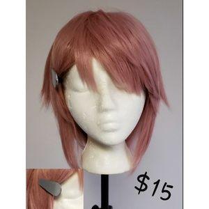 Sword Art Online SAO Lisbeth Cosplay Wig